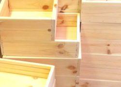 リサイクル木箱